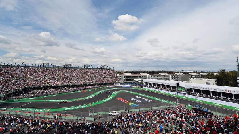 F1 Grand Prix of Mexico 2018: Schedules and retransmission