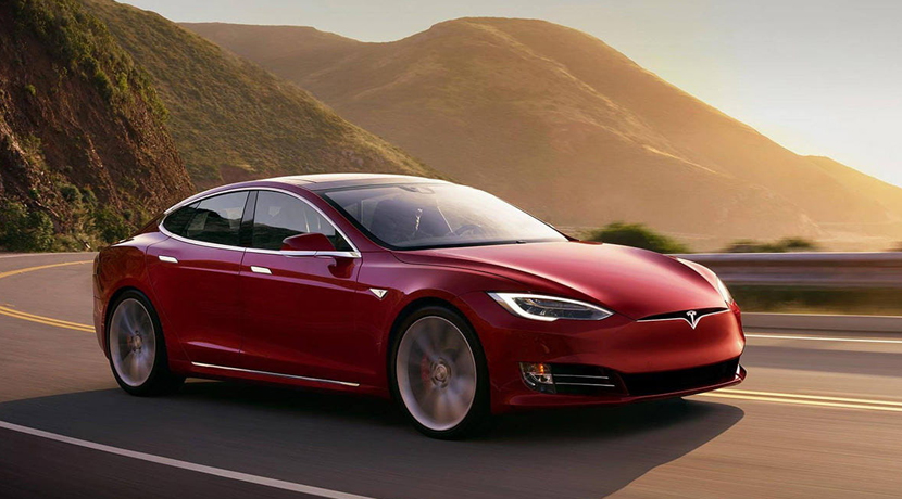 Fat Christmas Tesla Model S P100D