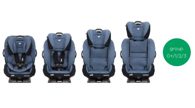 Car seats for children in groups