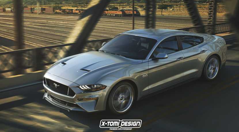 Beware that a Ford Mustang GT sedan could be on the way!