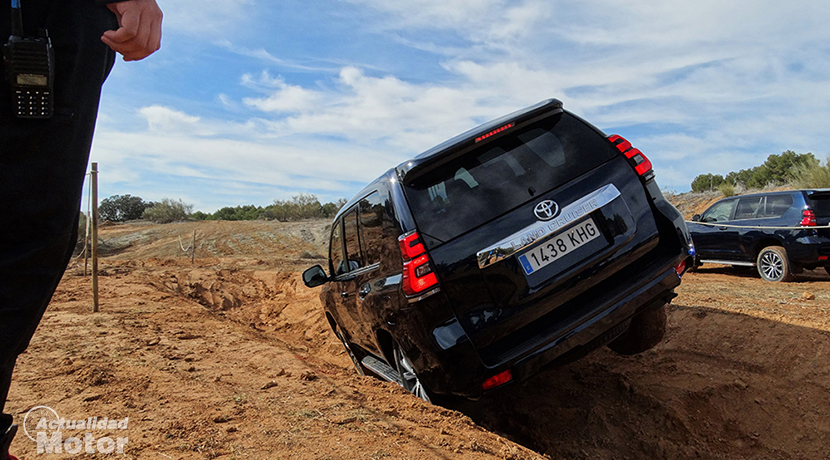 Test Toyota Land Cruiser