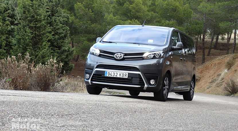 Test Toyota Proace Medium Verso 180D profile