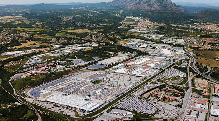 Seat factory in Martorell