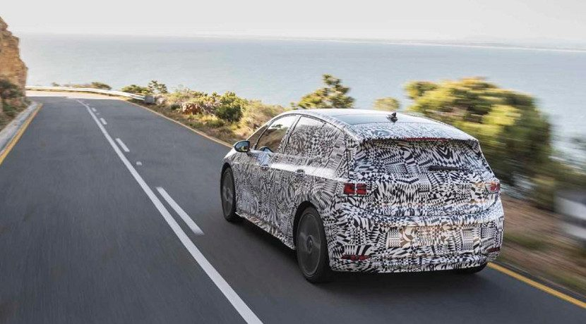 Volkswagen Camouflaged ID is already being tested on the road