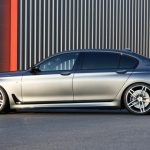 Side of the BMW M760Li G-Power